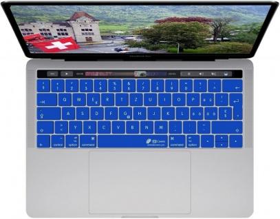 KB Tastatur-Abdeckung Schweiz CH Swiss Schutz-Cover Skin für MacBook Pro 13 15