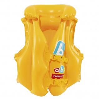 Bestway 93515 Fisher-Price Schwimmweste Schwimm-Ring Schwimm-Hilfe 3-6 Jahre