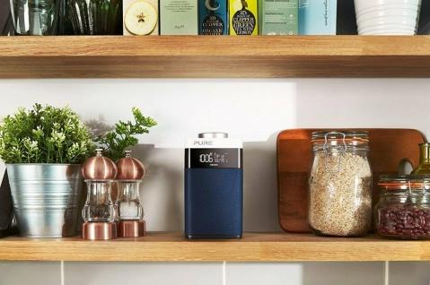 Pure One Midi S Digital-Radio DAB DAB+ FM UKW Küchen-Radio mit Bluetooth Display - Vorschau 4