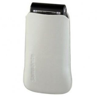 Samsonite Sleeve Toledo Handy-Tasche Etui Ledertasche Köchertasche Case Bag Weiß