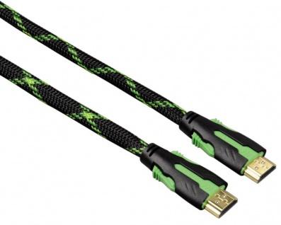 Hama High Speed HDMI-Kabel High Quality für XBox 360 Rotation Ethernet 2 m