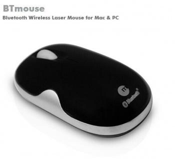 macally BTMouse2 Wireless Bluetooth BT Maus Laser 1600dpi Mouse für PC Notebook