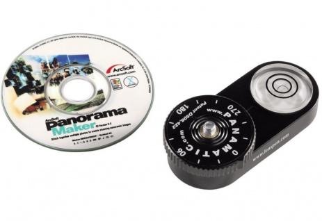 Hama Panorama Kit Set 360° Panoramakopf + Software Stativ Kopf Stativkopf Kamera