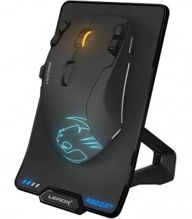 Roccat Leadr Wireless USB Gaming Mouse Maus Docking 12000dpi LED Beleuchtet RGB