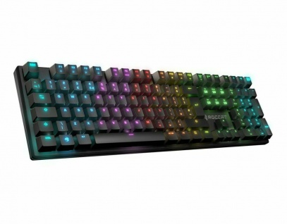 Roccat Suora FX RGB Tactile Gaming Tastatur LED US Layout Keyboard Mechanisch