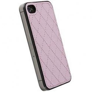 Krusell Avenyn Under-Cover Case Tasche Hülle Hard-Cover für Apple iPhone 4S 4