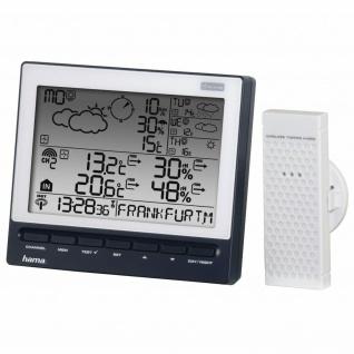 Hama Wettervorhersage-Center WFC-970 Thermometer Hygrometer Wecker Kabellos