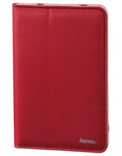Hama Portfolio Strap Rot Tasche Schutz-Hülle Case für Tablet PC Tab eReader 7