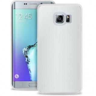 Puro Ultra Slim 0.3 Cover Silikon Case Schutz-Hülle Tasche für Samsung S6 Edge +