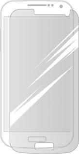 Cellux Displayschutzfolien für Samsung Galaxy S4 Mini transparent 3er Set
