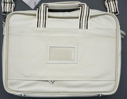 "Krusell Breeze Notebook-Tasche Leder creme Laptop 15"" 15, 4"" 15, 6"" 16"" Hülle - Vorschau 2"
