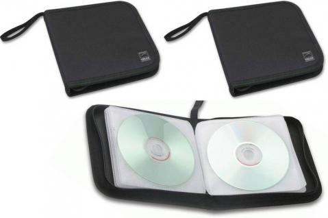 Speedlink 2x Pack CD-Tasche DVD Wallet 24x CD DVD BluRay Disc Booklet Case Hülle - Vorschau 1