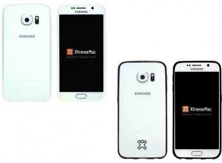 XtremeMac Slim Cover Klar Schutz-Hülle Hard-Case Schale für Samsung Galaxy S6