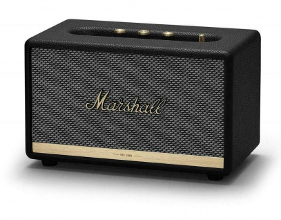 Marshall Acton II 2 Black Bluetooth Lautsprecher Speaker Retro Boxen Aktiv Box