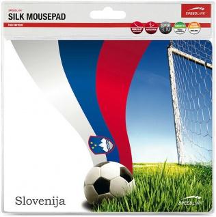 Speedlink Mousepad Mauspad Motiv Fahne Slowenien Slovenia Mouse Maus Pad WM EM