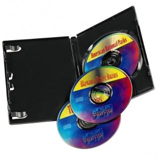 Hama 5x DVD-Hüllen für 3 DVDs 3er 3-Fach Leer-Hülle Box Case CD DVD Blu-Ray Disc - Vorschau 3