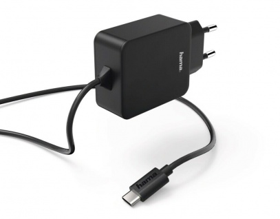 Hama Schnell-Ladegerät USB-C 3A 15W Stecker-Netzteil Netz-Lader Lade-Adapter