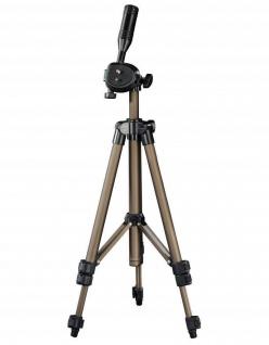 Hama Dreibein-Stativ Star 5 106cm 3D 3-Wege-Kopf Kamera-Stativ Foto-Stativ