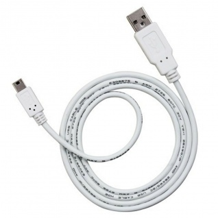 AIV 1m Mini-USB Kabel Daten-Kabel Ladekabel Strom Anschluss-Kabel Mini-B-Stecker