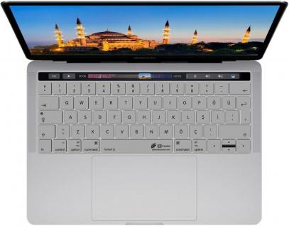 """KB Tastatur-Abdeckung Türkisch Türkei Schutz-Cover Skin für MacBook Pro 13"""" 15"""