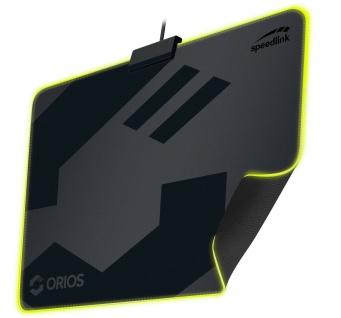 Speedlink ORIOS XL Gaming Maus-Pad LED RGB Beleuchtug Ergonomisch PC Gamer Mouse