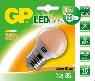GP LED Mini Birne E27 3, 5W/22W Extra Warmweiß 2200K Lampe Glühbirne Leuchtmittel - Vorschau 1
