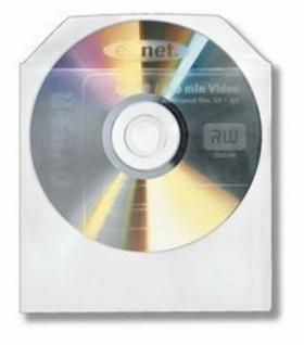 CD CD-Rom DVD DVD-Rom Papierhülle Sleeves mit Sichfenster 100er Pack