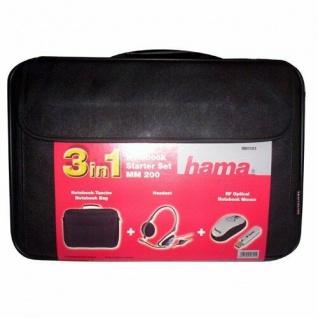 "HAMA NOTEBOOK STARTER Set 15"" 4 Tasche/USB Stick/Headset"
