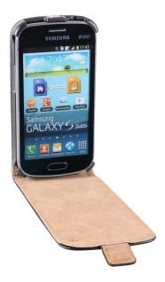 Patona Slim Flip Klapp-Tasche Schutz-Hülle Case für Samsung S7562 Galaxy S Duos - Vorschau 2