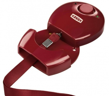 Personen-Alarm Taschen-Alarm Mini Alarmanlage Panik-Alarm Sirene Wand-Halterung