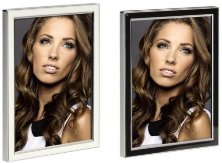Hama Portraitrahmen Metall 10x15 13x18 Portrait Foto-Rahmen Bilderrahmen Porträt