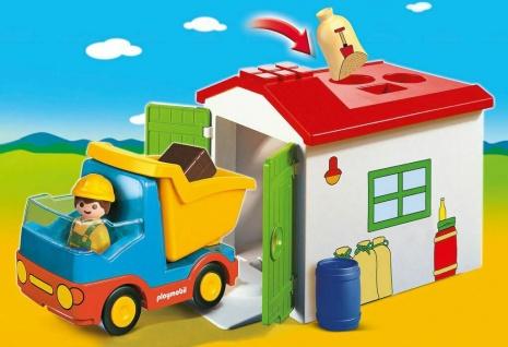 Playmobil 70184 LKW mit Sortiergarage Lastkraftwagen mit Befüllstation Mülltruck