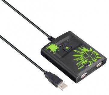 Hama Maus Tastatur Konverter Speedshot Adapter für Xbox 360 Konsole Controller