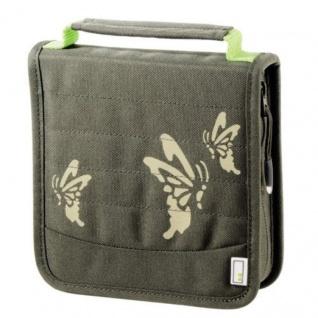 aha 32er CD DVD Blu-Ray Tasche Oliv Wallet Case Aufbewahrung Hülle Mappe Box Bag