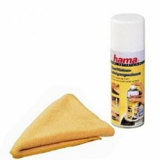 Hama Schaumreiniger & Mikrofasertuch für Oberflächen Reinigung Haushalt