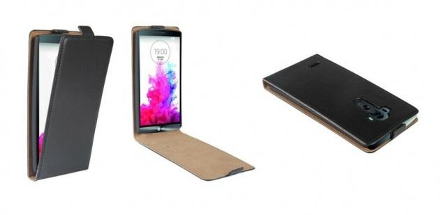 Patona Slim Flip-Cover Klapp-Tasche Schutz-Hülle Cover Case für LG G4 H810