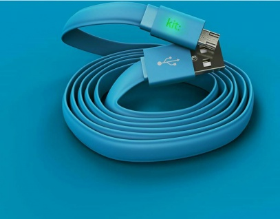 Kit FRESH USB-A auf Micro-USB USB-Kabel 1m Typ B Stecker Ladekabel Datenkabel