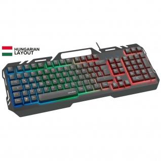 Speedlink ORIOS Metall Gaming-Tastatur RGB-Keyboard Anti-Ghosting HU-Layout