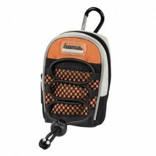 Hama Kameratasche Fototasche Case Gürtelschlaufe Fancy Backpack II DF9 Orange