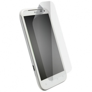 Krusell DELUXE Display Schutz Folie Schutzfolie Klar für HTC Sensation XL Handy