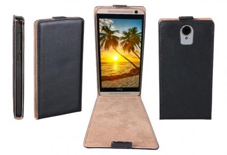 Patona Slim Flip-Cover Klapp-Tasche Schutz-Hülle Cover Case für HTC One E9+ Plus