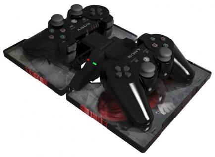 Gioteck Dual Ammo Clip Box Lade-Station Docking Ladegerät für PS3 Controller