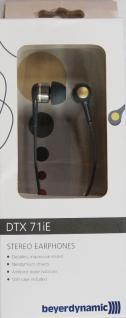 Beyerdynamic Stereo Earphone Kopfhörer 3, 5mm Klinke für Handy iPhone MP3 gold