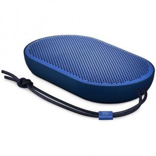 B&O Play by BANG & Olufsen Beoplay P2 Blue Bluetooth Lautsprecher Touch Boxen