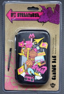 Hama MTV Streetmuse Tasche Hardcase für Nintendo 3DS DSi DS Lite Case Etui Hülle