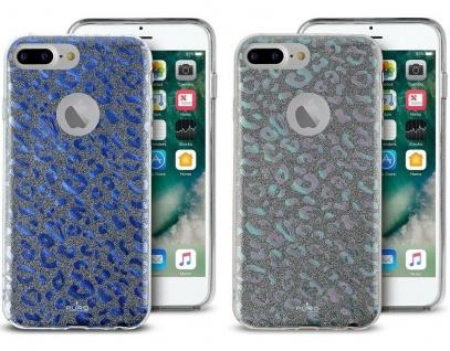 Puro Shine Glitzer Cover Schutz-Hülle Case Tasche für Apple iPhone 7 Plus 8 Plus