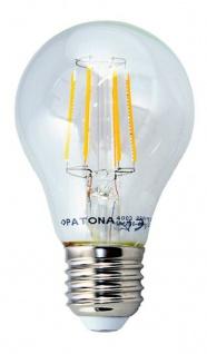 Patona LED Glüh-Birne Filament Klar E27 7, 5W / 80W Leuchtmittel Lampe Warmweiß - Vorschau 3
