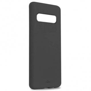 Puro ICON Cover Silikon Schutz-Hülle Hard-Case Tasche Schale für Samsung S10+