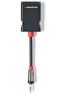 Monster Splitter Klinken-Kabel Klinken-Adapter 3, 5mm Stecker > 2x Buchse Y-Kabel - Vorschau 2