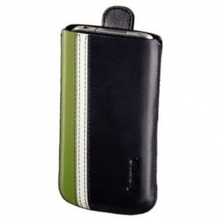 Hama Leder-Tasche Etui für Apple iPhone 4 4S Case Schutz-Hülle Wallet Leder-Etui